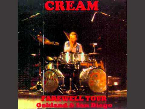 CREAM : SAN DIEGO 1968 : CROSSROADS .