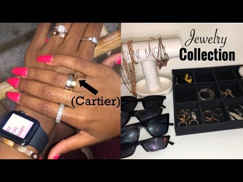 MY *ENTIRE* JEWELRY COLLECTION!  (Cartier, AliExpress, & more!) thumbnail