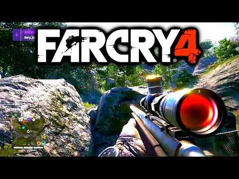 FAR CRY 4 FREE ROAM GAMEPLAY - PS4 FarCry 4 Gameplay 1080p HD