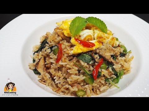 RitaCooking : ข้าวผัดปลาทู สำหรับ 2 ที่