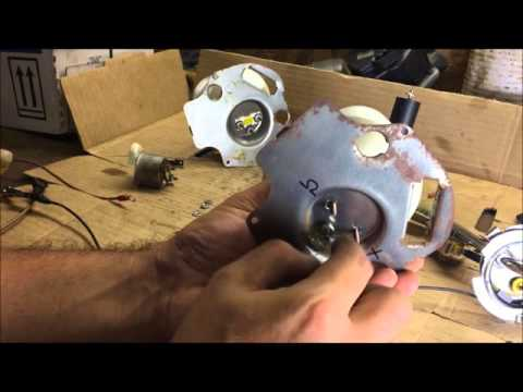 how to test fuel sending unit and gas gauge chevelle GM