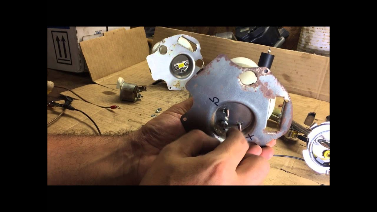 How To Test Fuel Sending Unit And Gas Gauge Chevelle Gm Youtube 1969 Beaumont Wiring Diagram