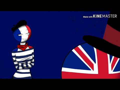 Countryhuman Meme Wannabe (remix)// Uk X France X Germany
