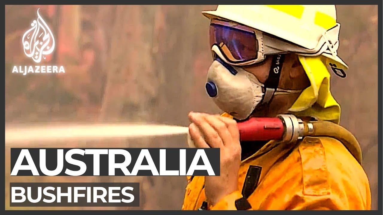 Cooler temperatures bring Australia some respite from bushfires