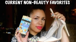 Current Non-Beauty Favorites Thumbnail
