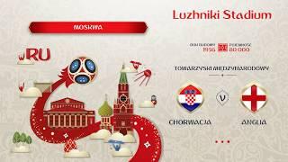 FIFA 18 Chorwacja vs Anglia mundial 2018