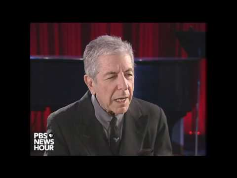 Songwriter Leonard Cohen Discusses Fame, Poetry and Getting Older