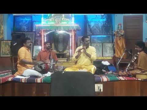 Flute Dr Padmesh at Abhedandasram Thiruvananthapuram