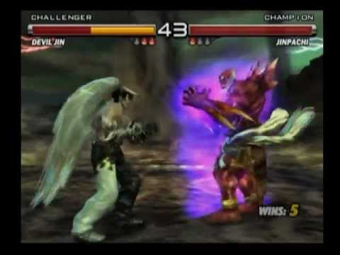 Tekken 5 Devil Jin vs Jinpachi - YouTube