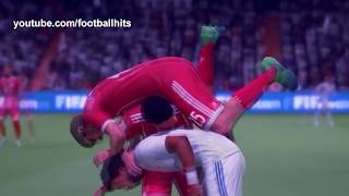 Football funny videos #76 women soccer girls fails  comic moments vines 2017 goals l skills