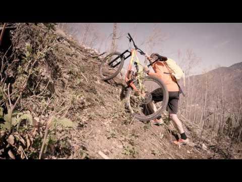 Bohinj with a mountain bike