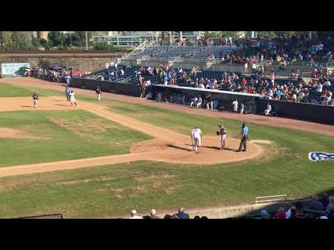 The Last At Bat In The History Of The Bridgeport Bluefish At The Ballpark At Harbor Yard