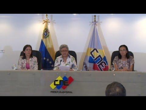 Poder electoral niega manipulación en elección en Venezuela