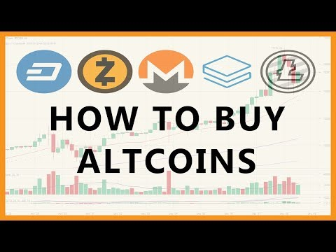 How to buy altcoins in South Africa, other cryptocurrencies such as Ethereum, Ripple, Dash, Litecoin