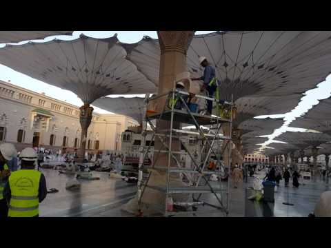 cleaning Harom mist-fan 1438H/2017 Ramadan