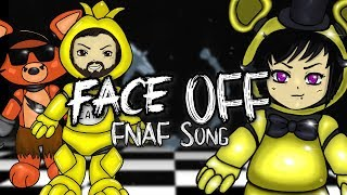"FNAF SONG | ""Face Off"" (feat. Caleb Hyles & Party in Backyard) 