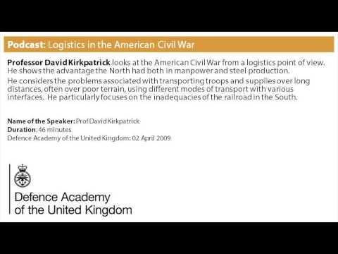 Podcast: Logistics in the American Civil War