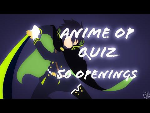Quiz Anime Opening - 50 opening (Very Easy/Easy)