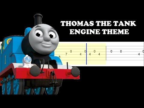 Thomas The Tank Engine Theme (Easy Guitar Tabs Tutorial)
