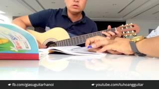 Tình Nhớ - Guitar Cover by Học viên gia sư guitar tại Hà Nội Đệm Hát sau 8 buổi