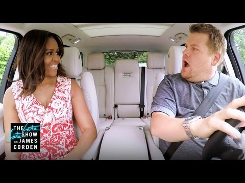 Carpool Karaoke with The First Lady