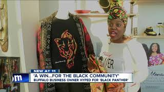 Black Panther helps local business promote African culture