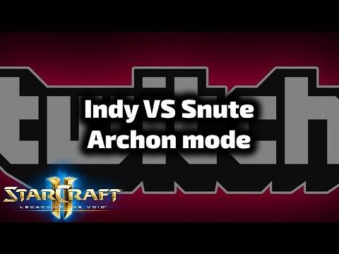 Team Indy VS Team Snute - Archon mode - Twitch Rivals Sierpień 2019 #5