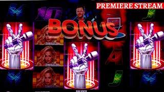 Max Bet Bonuses On THE VOICE Slot, Buffalo Gold Slot & Quick Hit Platinum Slot - GREAT SESSION