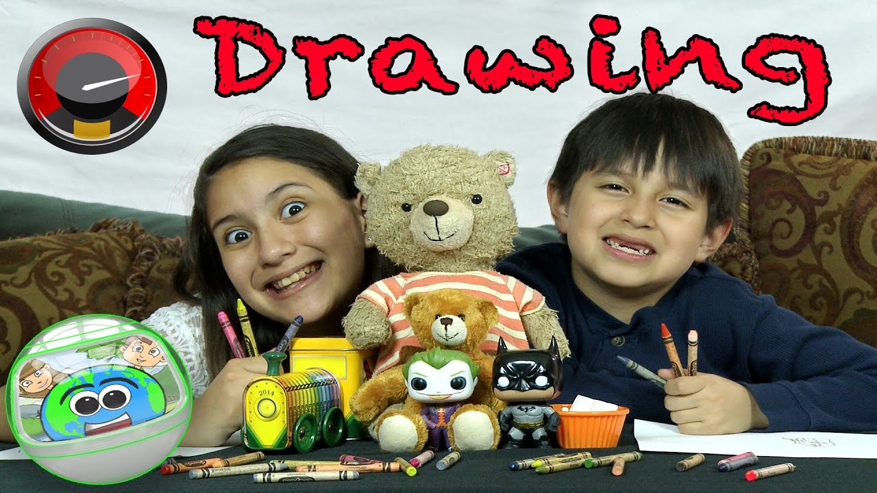 Download Speed Drawing / Arts and Crafts / Kids Creative World