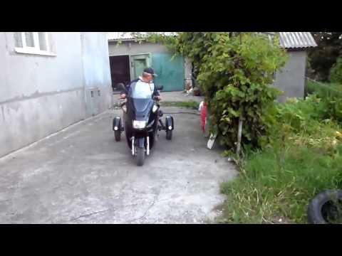 Трехколесный скутер своими руками.( 2 ).