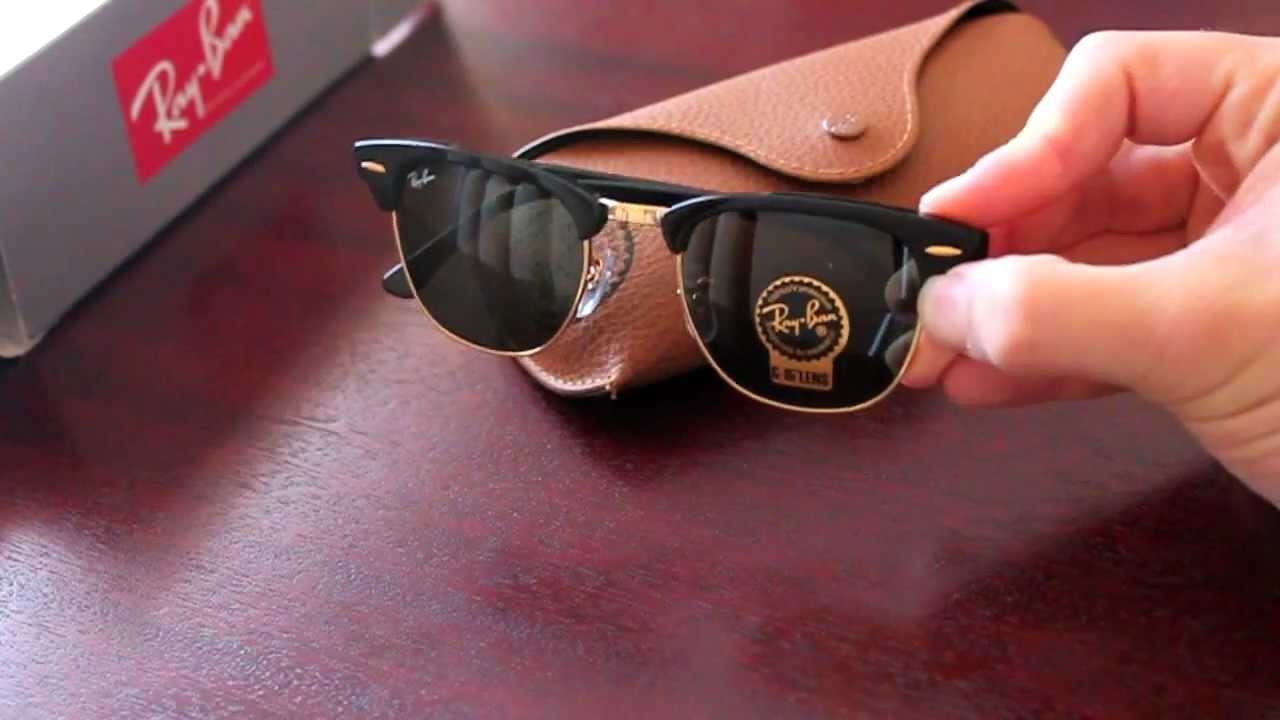 Ray-Ban Clubmaster Sunglasses Review - YouTube