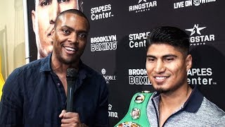 MIKEY GARCIA: Vasyl Lomachenko Deserves NO CREDIT for WINS!