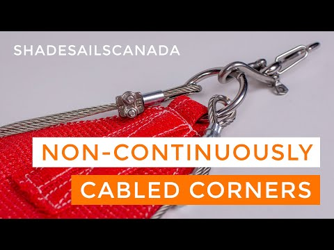 How do I install a Custom Shade Sail? - Shade Sails Canada