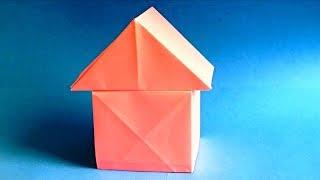как сделать домик из бумаги своими руками. Оригами домик из бумаги. How To Make a Paper House