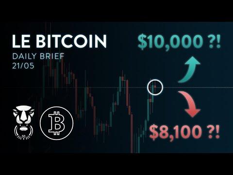 BITCOIN DUMP VIOLENT ! AMORCE DE LA BAISSE OU PIÈGE ?! - Analyse Crypto Bitcoin Ethereum FR Altcoin 16