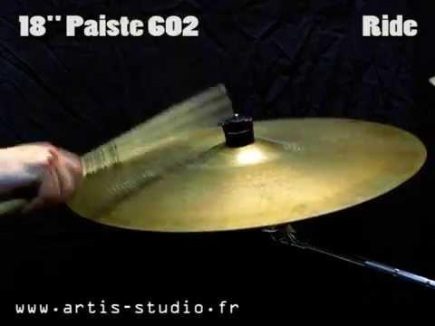 "Paiste 602 18"" Vintage Ride Cymbal"