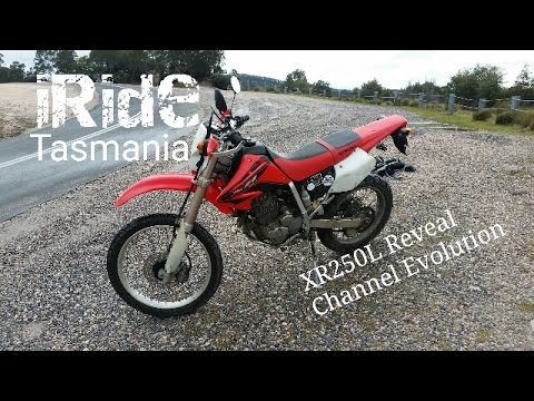 XR250L Dual Sport Reveal | iRidetas Channel Evolution
