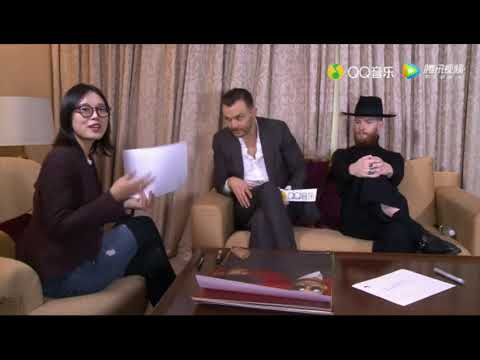 Hurts interview in Shanghai 31 01 2018