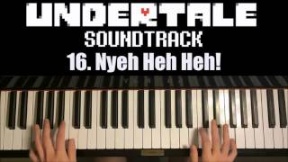 undertale ost 16 nyeh heh heh piano cover by amosdoll