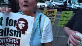 Former Soviet Citizen Confronts Socialists at Occupy Wall Street (Part 1)