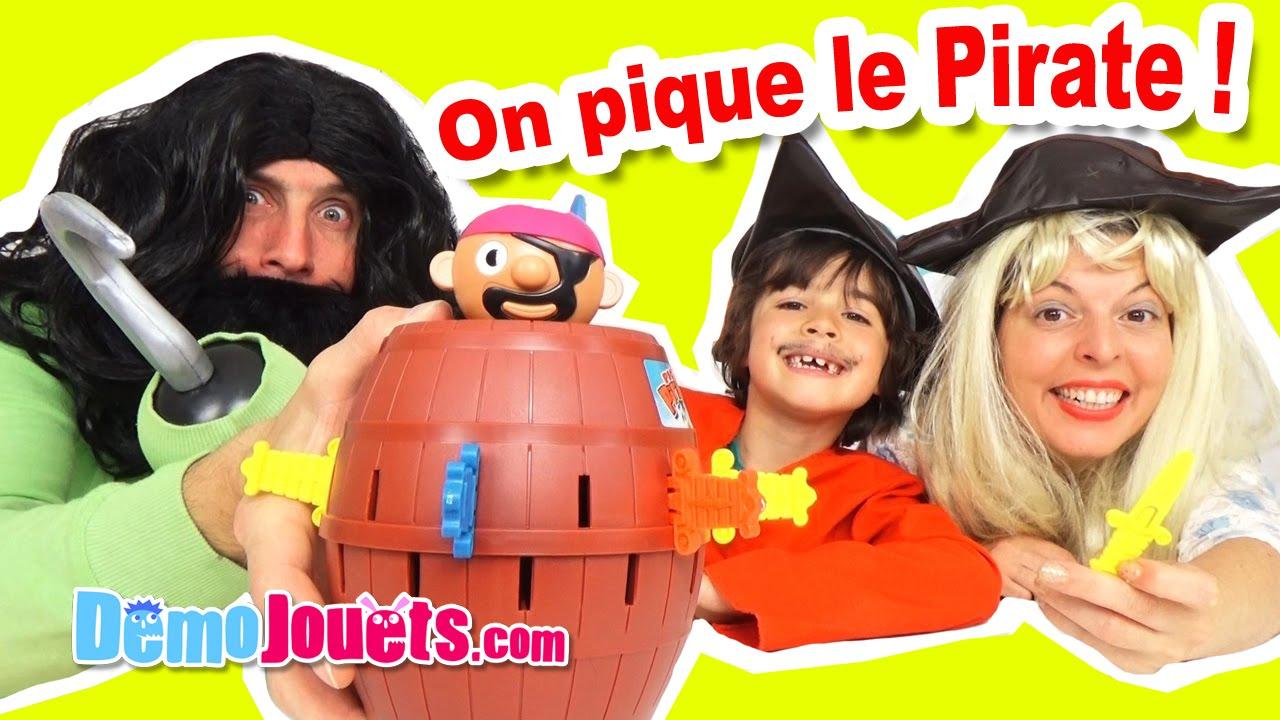 Fera Pic'pirateQui Hors Sauter Pirate Jouets Le De TonneauDémo Jeu Son trdsxhQC