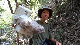 เก็บขยะในป่า..!! [ โจโฉ ]