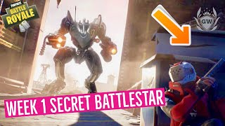 Fortnite Season 10 Week 1 Secret Battle Star Location Guide! Season X week 1 Battlestar!