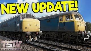 DRIVING CLASSIC BRITISH TRAINS IN NEW UPDATE! - Train Sim World Gameplay - Train Simulator 2018
