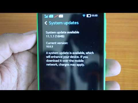 How to Install Updates on Nokia X Android