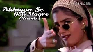 Ankhiyon Se Goli Mare Lyrical Video   Dulhe Raja   Sonu Nigam   Govinda, Raveena Tandon
