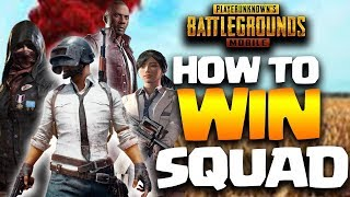 PUBG Mobile How To Win Every Time in Squad (Most of the Time)