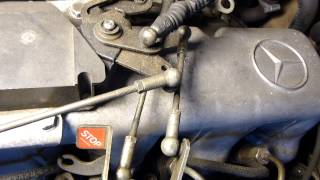 300D turbo control linkage