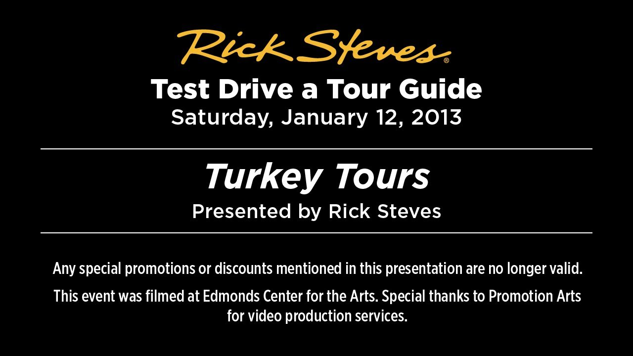 Turkey Tours 2013 with Rick Steves