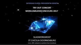 Slagwerkgroep St Caecilia Doornenburg speelt in Gendt 2017